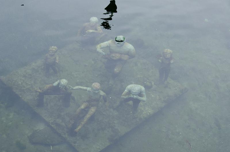 Underwater sculpture in Copenhagen