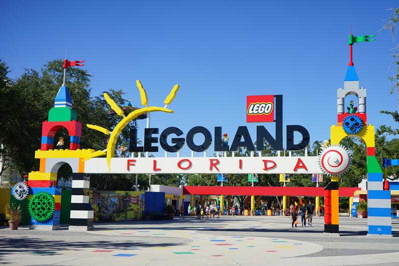 Family Bonding in Legoland, Florida