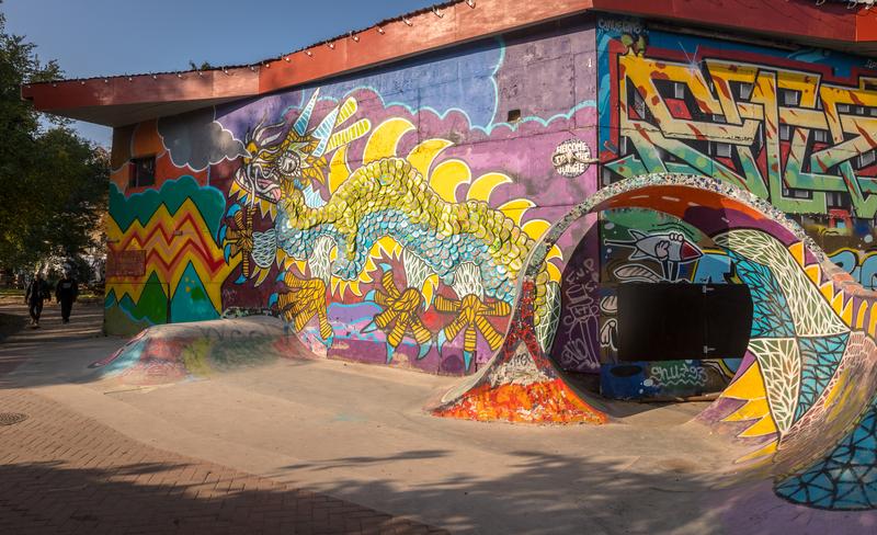 Explore street art in Copenhagen