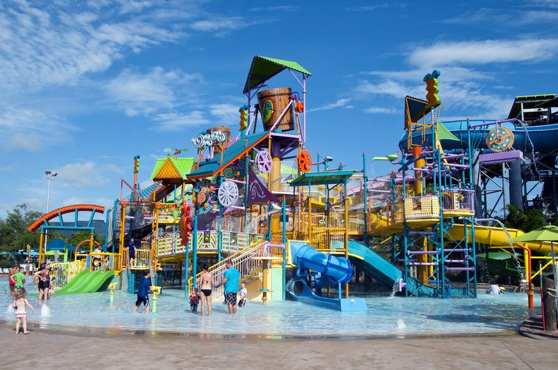 Stay cool at a waterpark