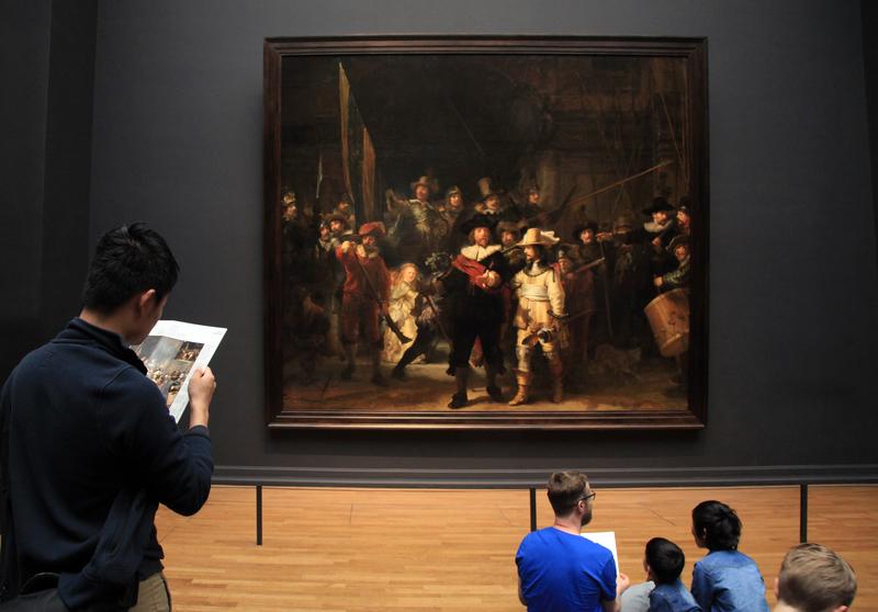 Take a walk through the Art History of Amsterdam