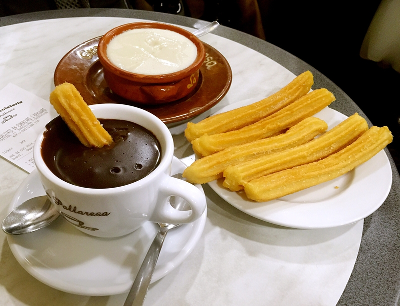 Taste Churros and Chocolate in Barcelona