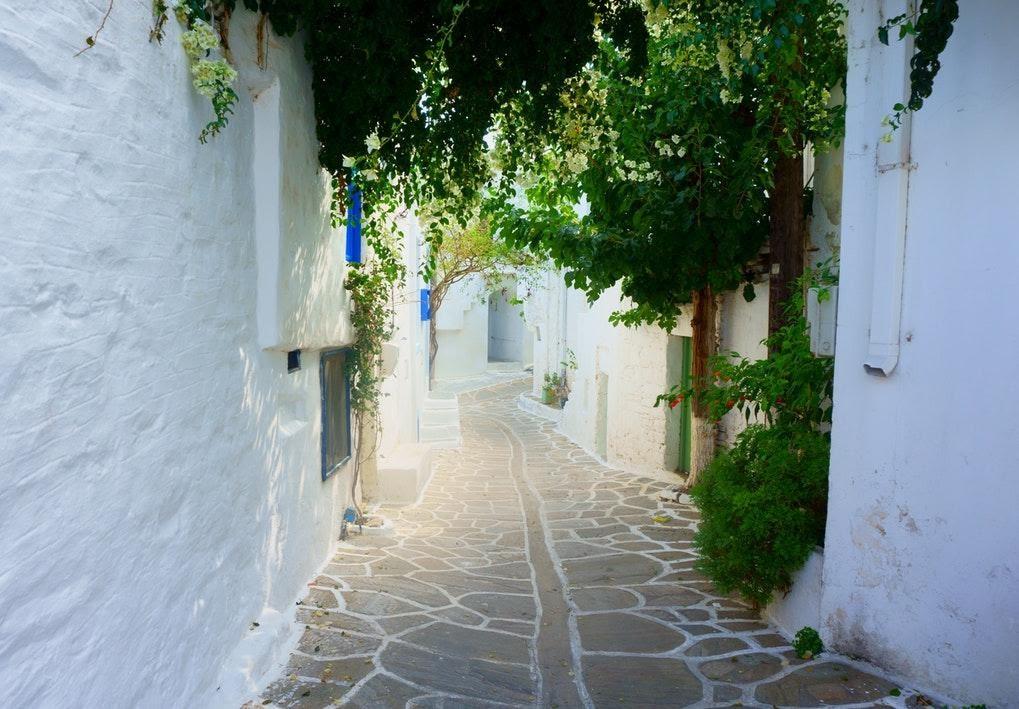 Beautiful Walkway, Santorini