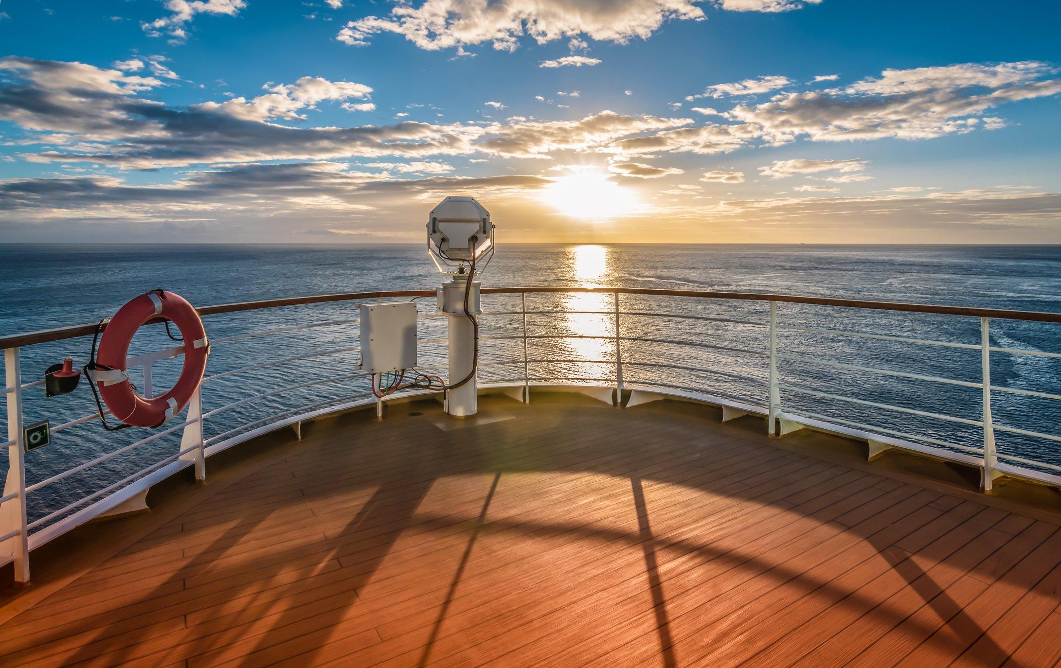 Transatlantic Cruise at Sunset